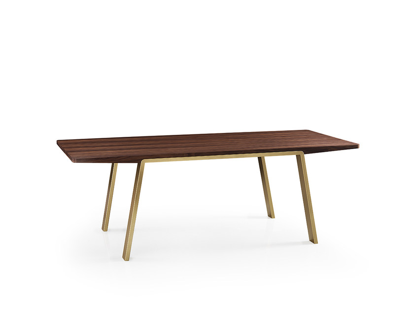 Rectangular wooden table ARCO | Table by Oliver B.