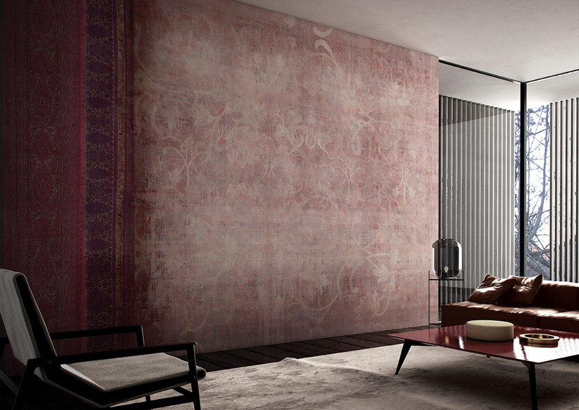 Damask wallpaper ARDAKAN by GLAMORA