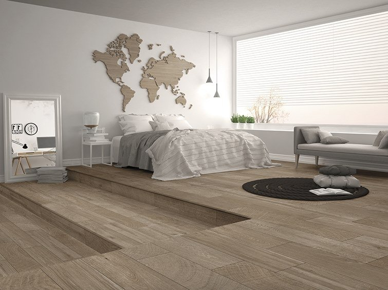 Porcelain Wallfloor Tiles With Wood Effect Ardennes By Itt Ceramic