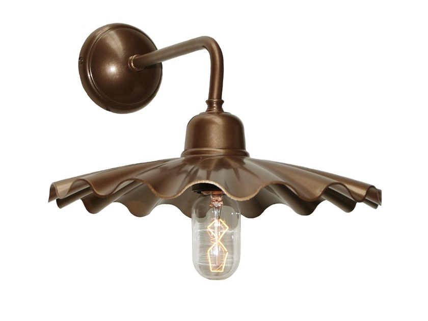 Direct light handmade brass wall lamp ARDLE B by Mullan Lighting