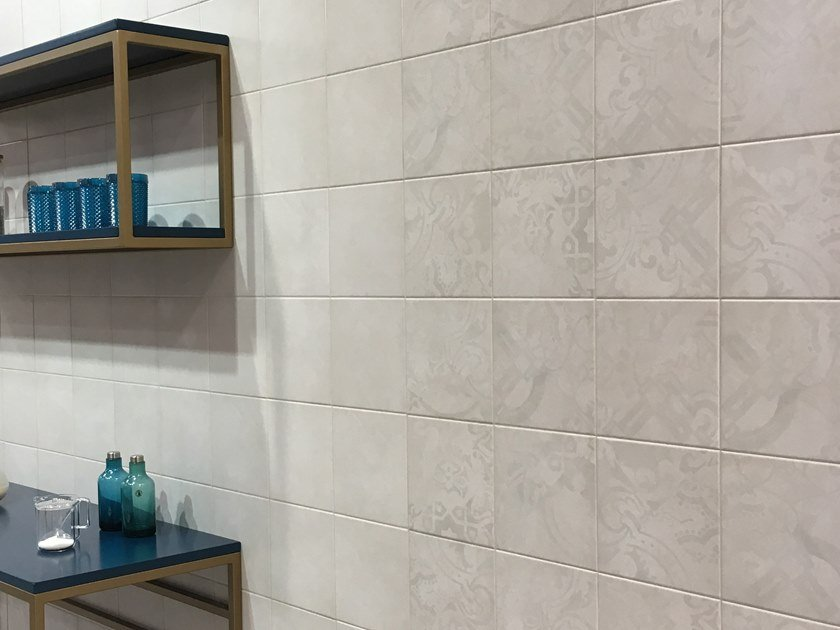 Glazed porcelain stoneware wall/floor tiles with concrete effect AREA DECOR | Wall/floor tiles by RECER