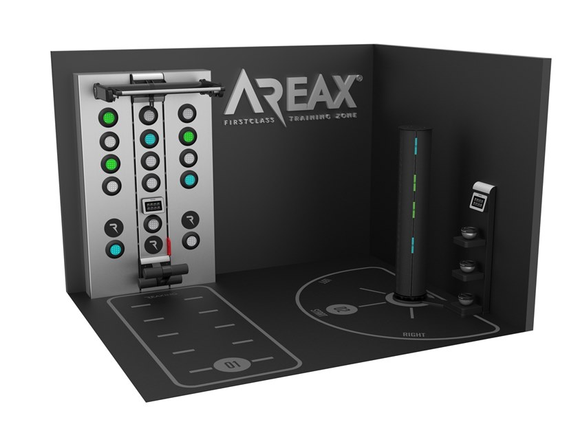 Neurofunctional space solution with 2 walls for 2 users AREAX NEUROFUNCTIONAL 2 - 2 WALLS by REAXING
