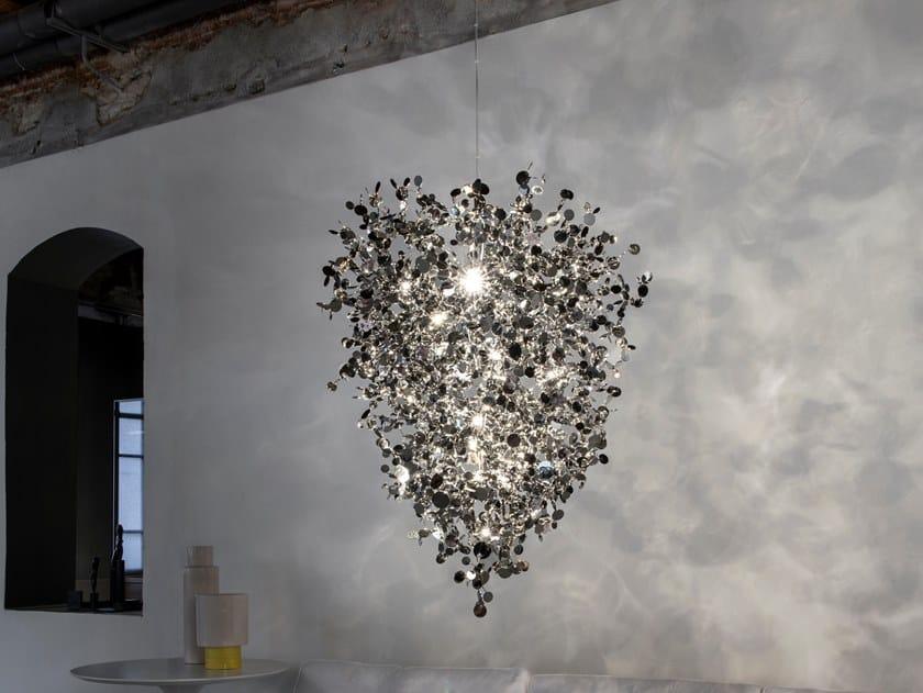 LED metal pendant lamp ARGENT N93 by TERZANI
