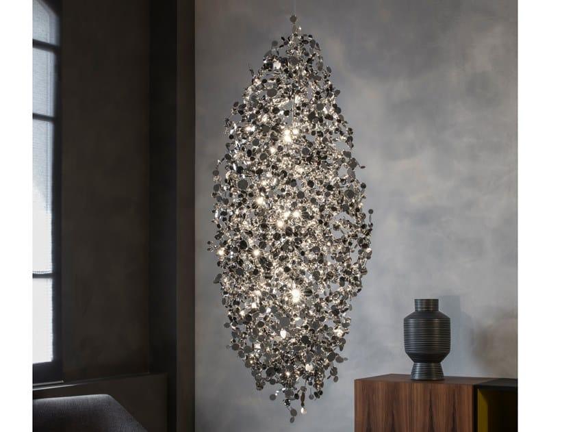 LED metal pendant lamp ARGENT N94 by TERZANI