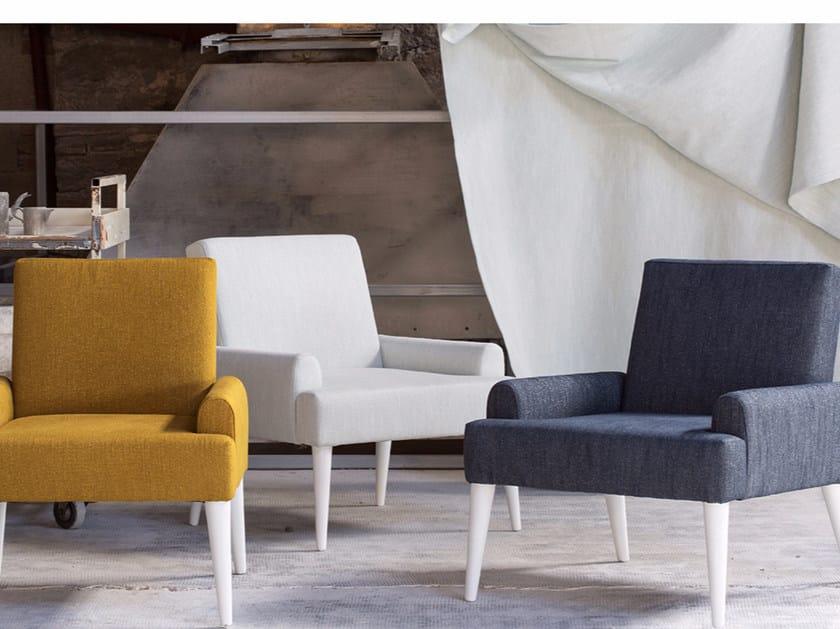 Solid-color washable linen fabric ARGIA by Élitis