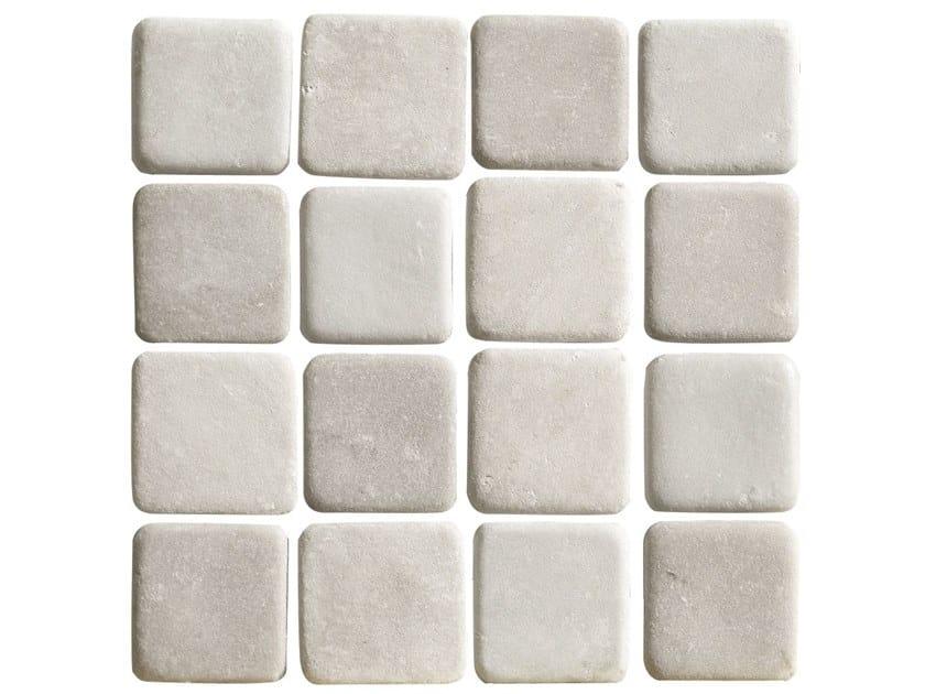 Porcelain stoneware wall/floor tiles ARGILLAE | MOSAICO SHADED WHITE by Ceramica Fioranese