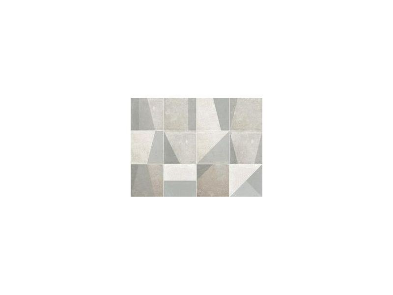 Porcelain stoneware wall/floor tiles ARGILLAE | SHAPE SHADED WHITE by Ceramica Fioranese