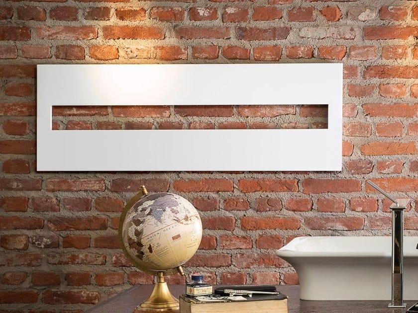 Termoarredo in acciaio a parete ARGO by Cobrillo