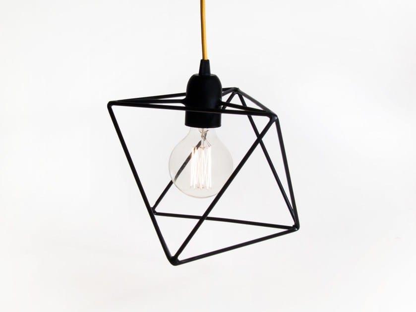 Direct light incandescent iron pendant lamp ARIA   Iron pendant lamp by bigdesign
