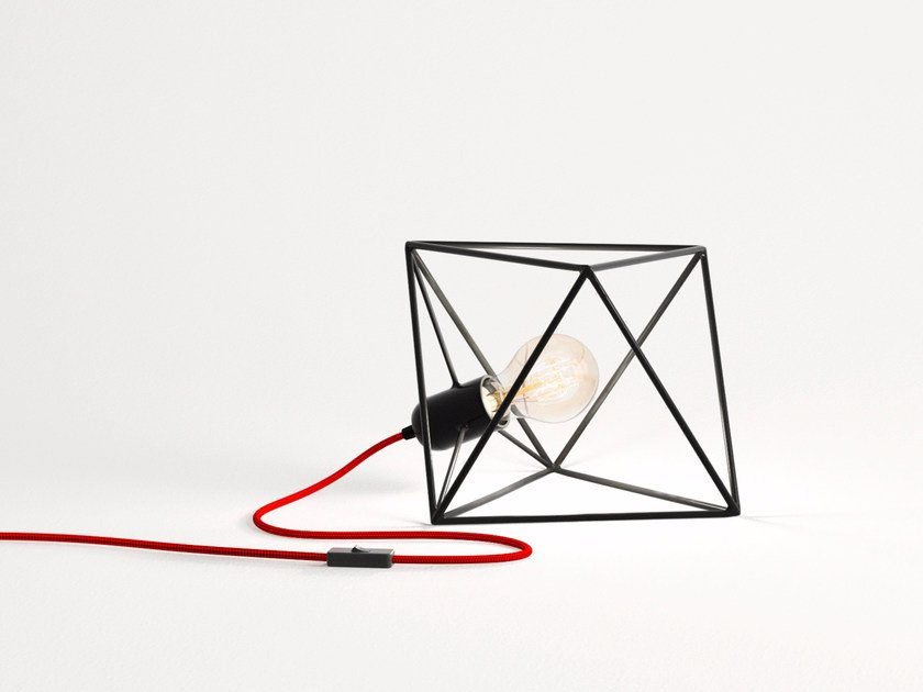Iron table lamp ARIA | Iron table lamp by bigdesign
