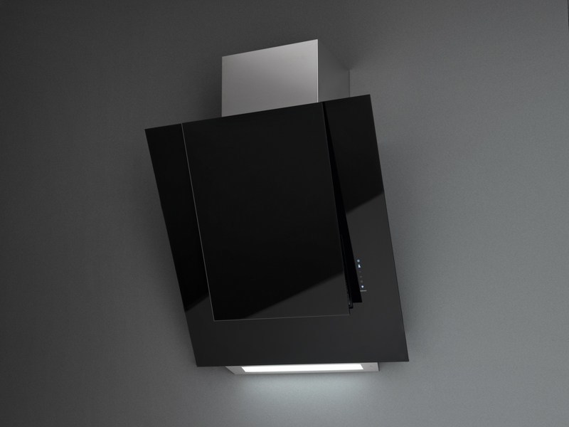 Wall-mounted stainless steel cooker hood with activated carbon filters ARIA NRS by Falmec