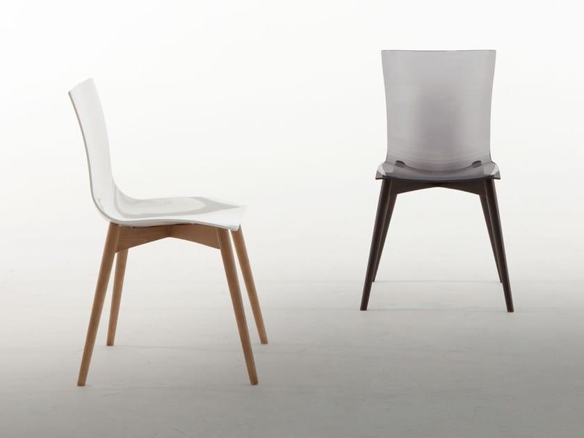 Chair ARIA WOOD by Tonin Casa