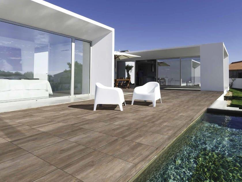 Piastrelle Effetto Legno Per Esterni : Pavimento per esterni in gres porcellanato effetto legno ariel
