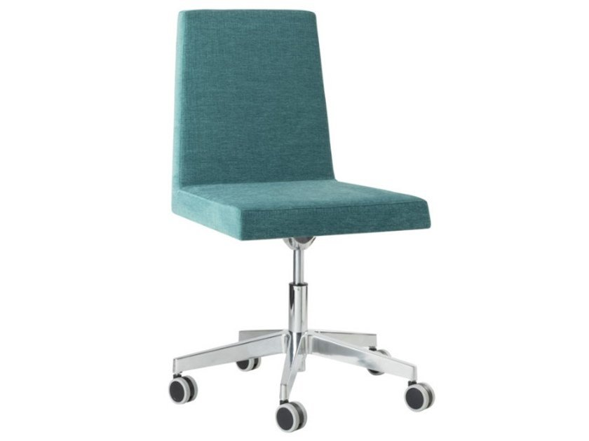 Task chair with 5-Spoke metal base with castors ARISA SE01 BASE 23 by New Life
