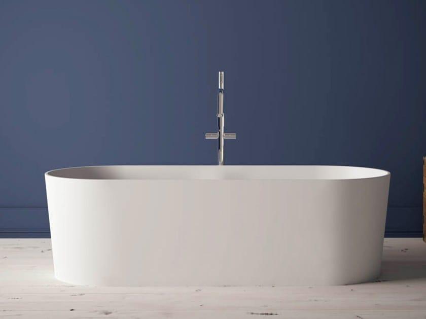 BluSolid oval bathtub ARIZONA by Blu Bleu
