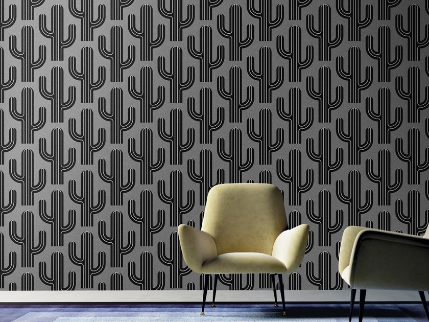 Motif washable wallpaper ARIZONA by Baboon