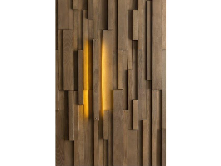Modular wooden 3D Wall Cladding ARKANSAS by NEXT LEVEL DESIGN STUDIO