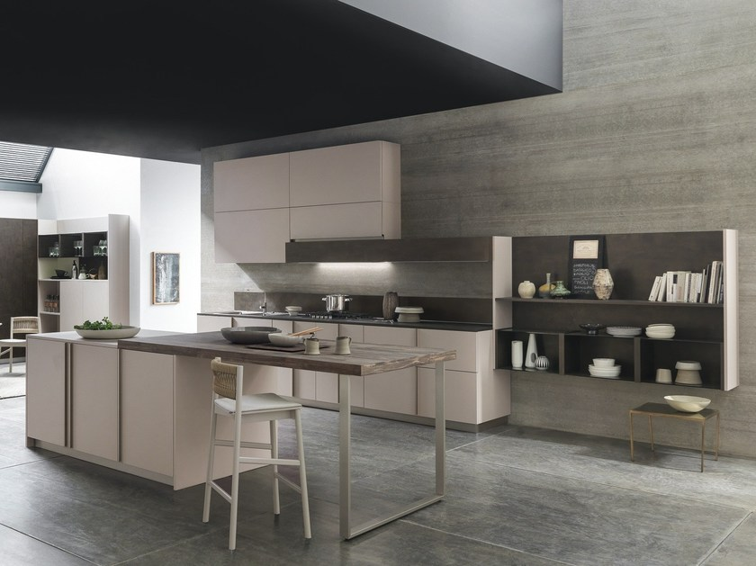Linear Kitchen With Integrated Handles ARKÈ | Linear Kitchen By Pedini