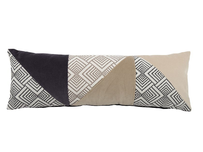 Rectangular fabric cushion ARLECCHINO 045-16 by l'Opificio