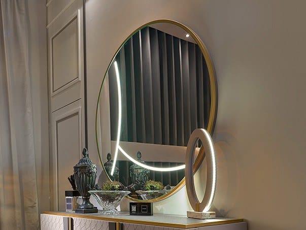 Round wall-mounted mirror ARLO by Valderamobili