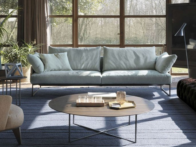 3 seater fabric sofa with removable cover ARLON | Fabric sofa by Désirée divani