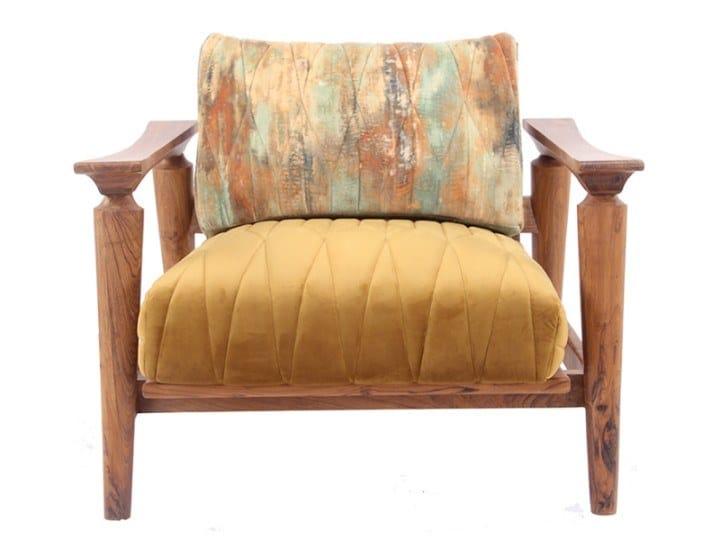 Fabric armchair NISADYA | Armchair by ALANKARAM