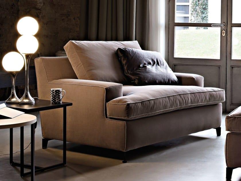 Fabric armchair MALTA | Armchair by Arketipo