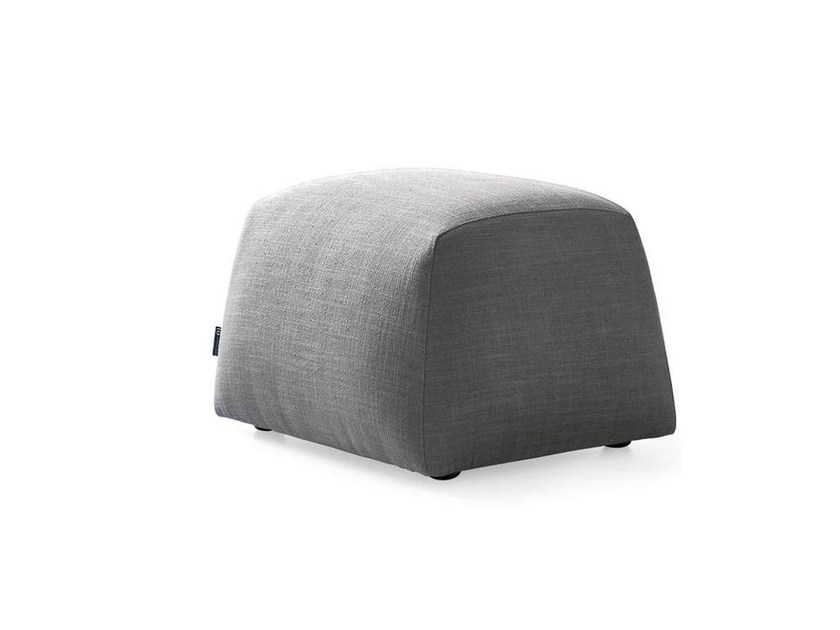 Fabric pouf / footstool ALMA | Pouf by Calligaris