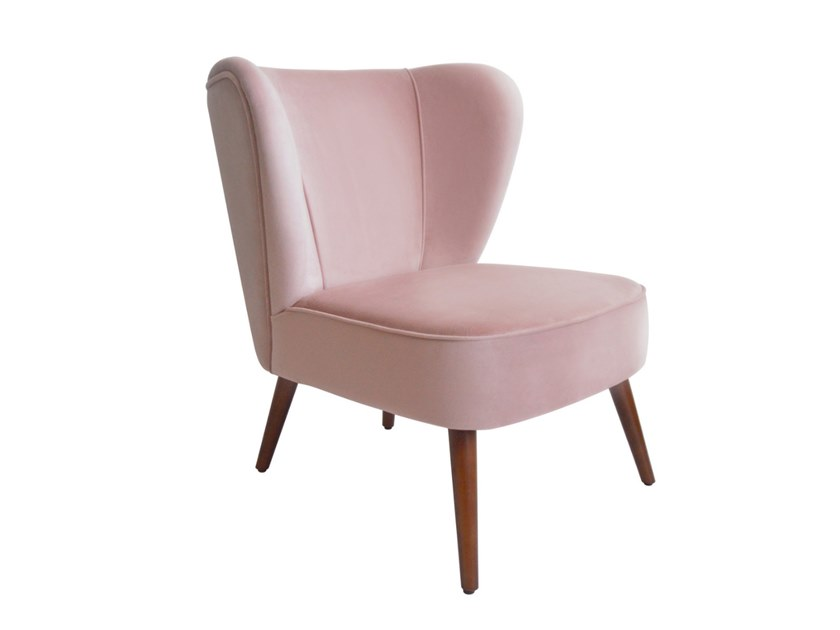 Wing fabric armchair GRACE | Armchair by Conceito Casa