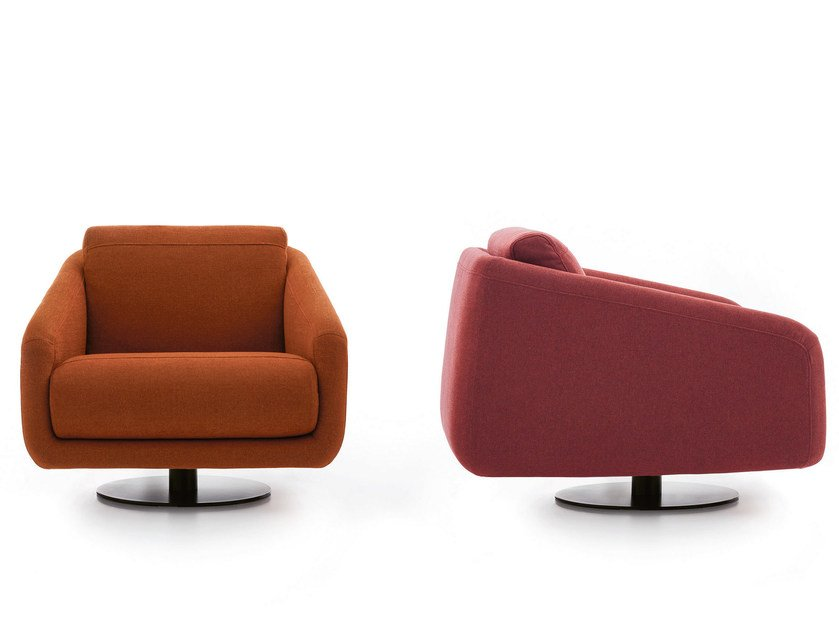 Fabric lobby chair with armrests CLASS | Armchair by Ditre Italia
