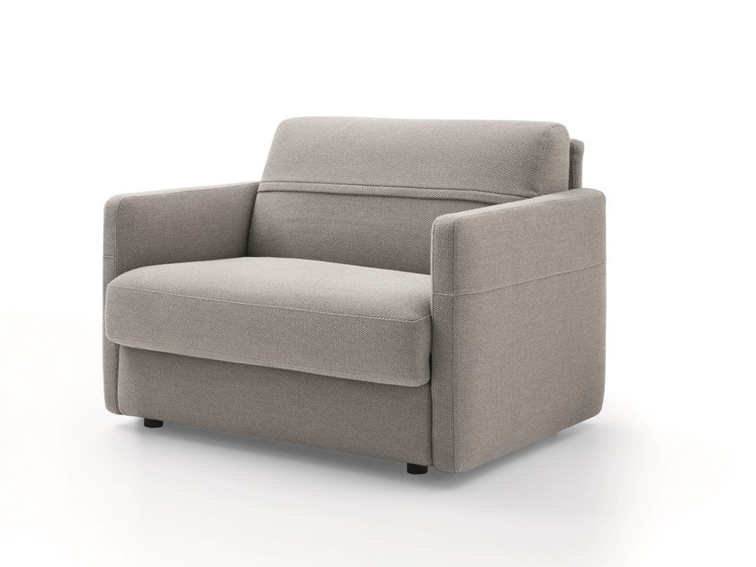 Fabric armchair with armrests FRANK | Armchair by Ditre Italia