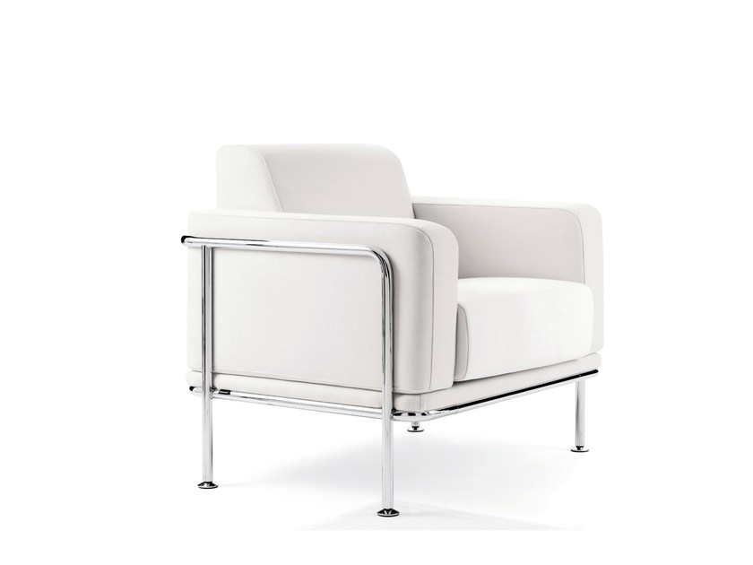 Armchair with armrests KEA | Armchair by Emmegi