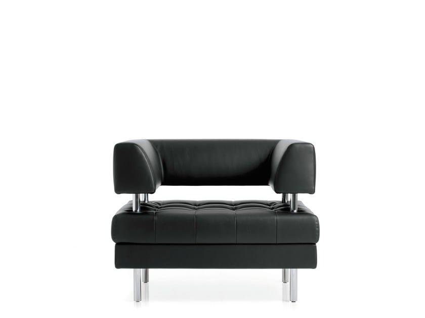 Armchair with armrests MILO | Armchair by Emmegi