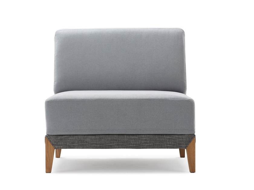 Sectional fabric armchair MOOVE | Armchair by Extraform