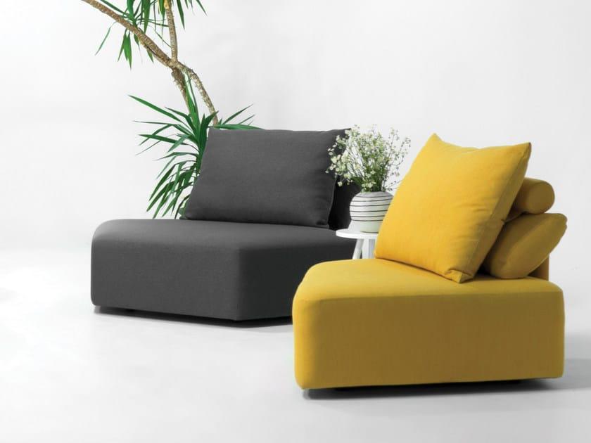 Modular armchair MATACAO | Armchair by Feydom