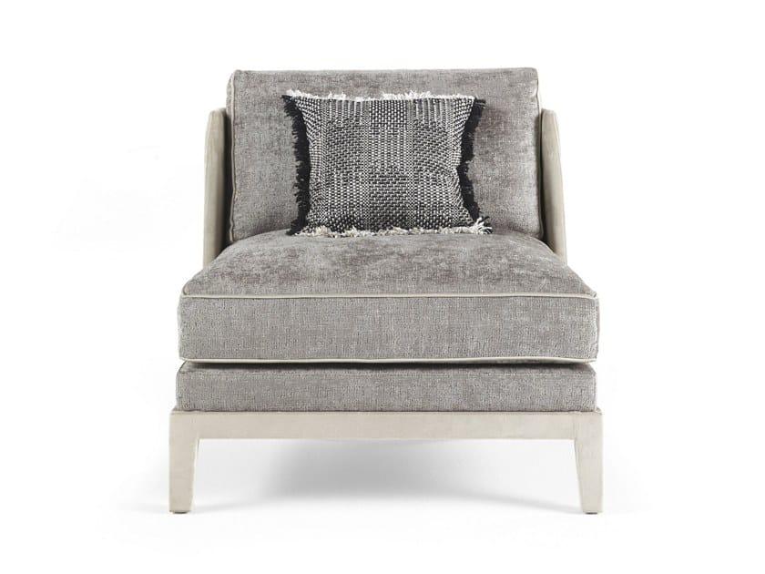 Fabric armchair PEGGY | Armchair by Gianfranco Ferré Home