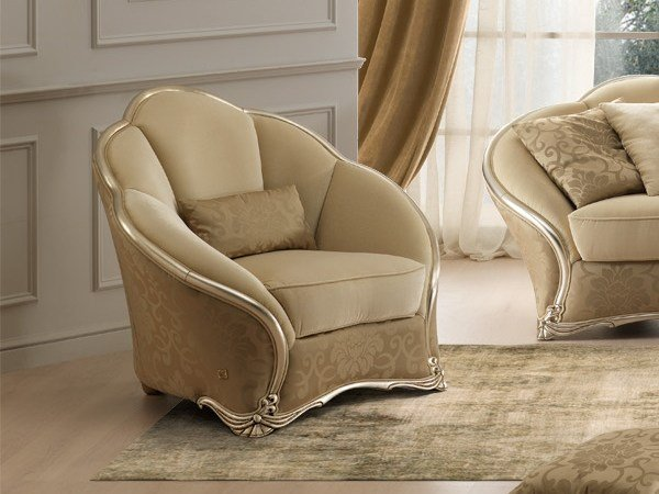 Fabric armchair DAHLIA | Armchair by Gold Confort