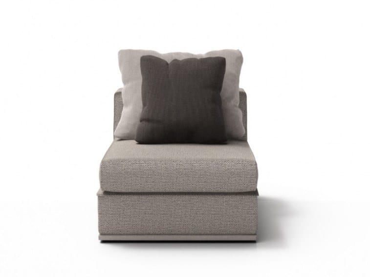 Fabric armchair CHELSEA   Armchair by Huppé