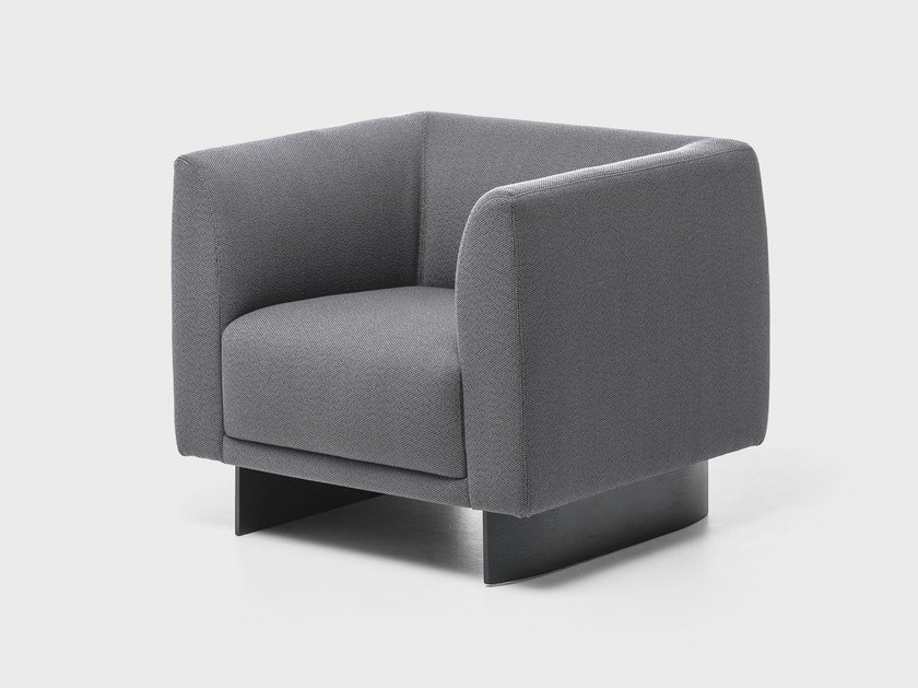 Fabric armchair TAILOR | Armchair by La Cividina