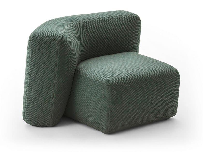 Fabric armchair SUISEKI | Armchair by La Cividina