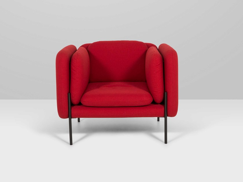 Fabric armchair ARCHIDUC | Armchair by Recor Home