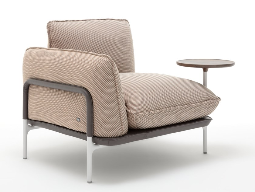 Rolf Benz 515 Addit Fabric Armchair With Armrests