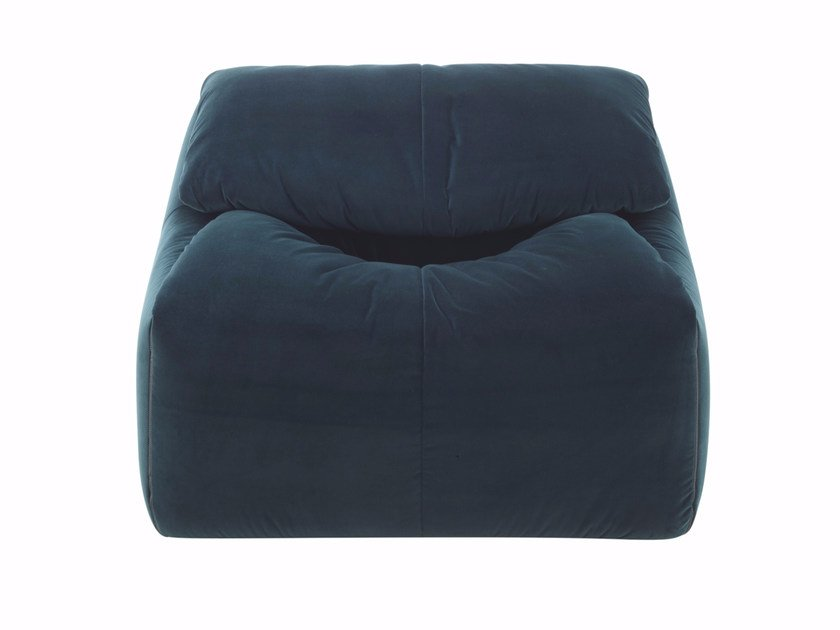 Fabric armchair with removable cover PLUMY   Armchair by Ligne Roset