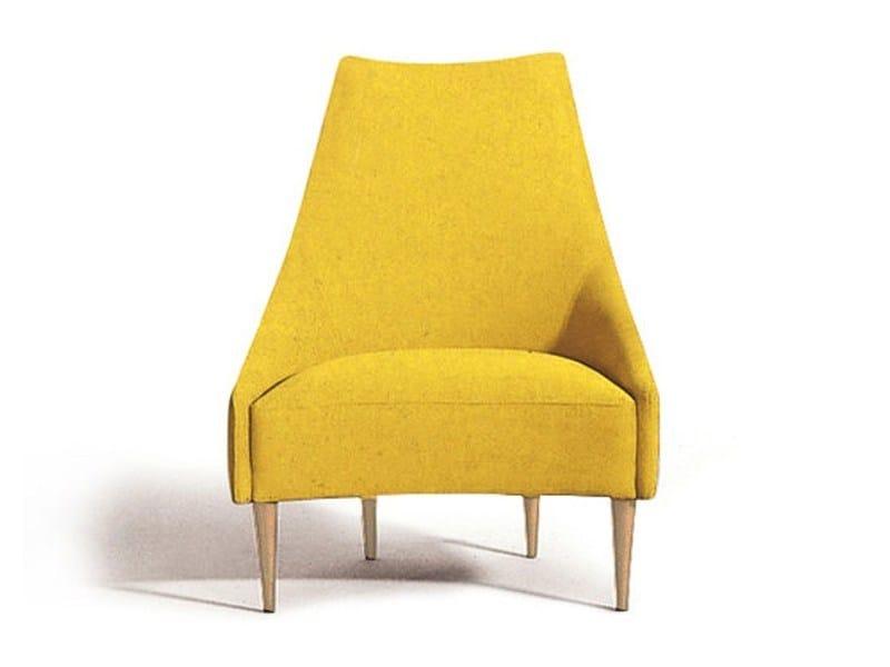 High-back fabric armchair SILENCIO | Armchair by Sancal