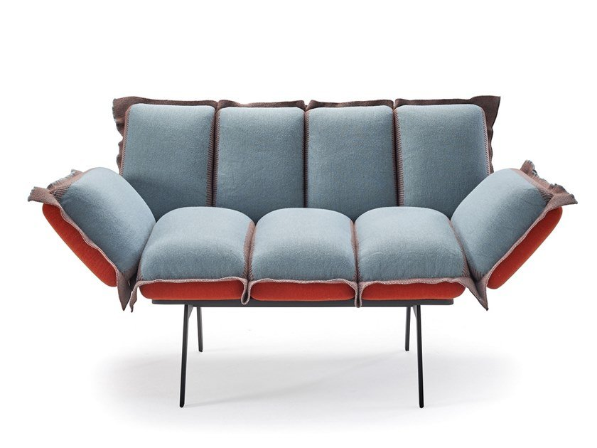 Fabric armchair with armrests NEXT STOP   Armchair by Sancal