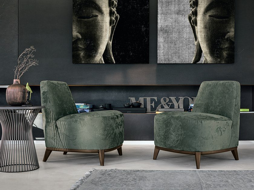Armchair LOFT | Armchair by Gruppo Tomasella