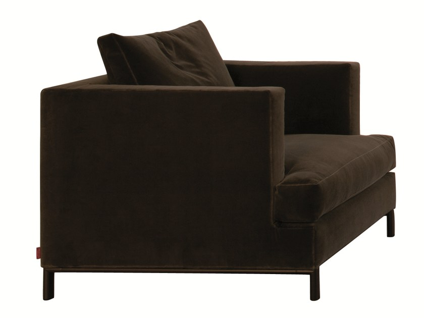 Fabric armchair with removable cover with armrests HAMPTON MEMORY | Armchair by Verzelloni