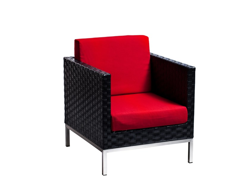 Armchair with armrests CONDO | Armchair with armrests by 7OCEANS DESIGNS