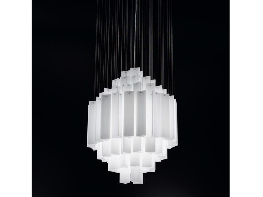 Lampada a sospensione in vetro ARMONIA | Lampada a sospensione by IDL EXPORT