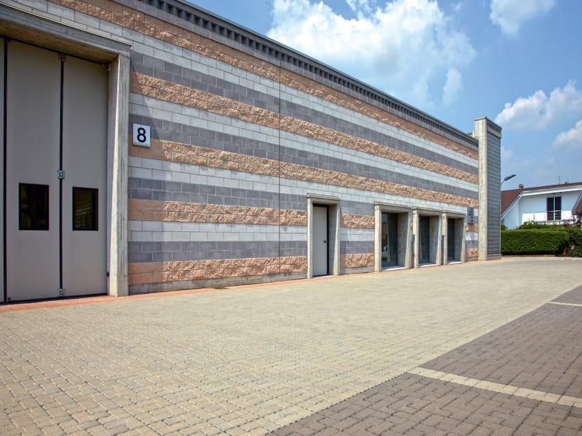 Concrete paving block ARMONIA by RECORD - BAGATTINI